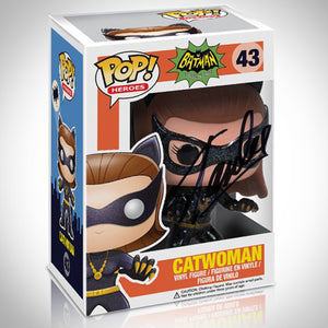Batman Classic 1966 Catwoman Funko Pop Hand-Signed By Stan Lee