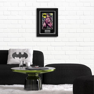 Catwoman 'Jewels' Hand-Signed Artwork Print By Artist Dan Demille Custom Frame