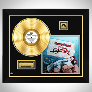 Cheech & Chong Up in Smoke Soundtrack Limited Signature Edition Studio Licensed Gold LP Custom Frame