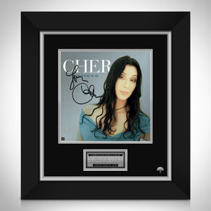 Cher - Believe Limited Signature Edition Studio Licensed LP Cover Custom Frame