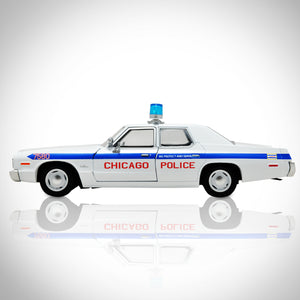 Blues Brothers - 1975 Dodge Monaco Chicago Police 1/24 Die Cast Car Custom Display