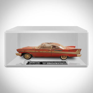 Christine - Hand-Signed 1958 Plymouth Fury Die-Cast Car By Stephen King Custom Museum Display
