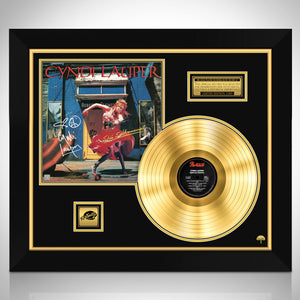 Cyndi Lauper She's So Unusual Limited Signature Edition Studio Licensed Gold LP Custom Frame