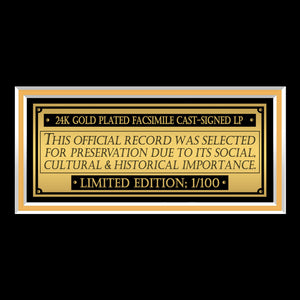 Clockwork Orange Movie Soundtrack Limited Signature Edition Studio Licensed Gold LP Custom Frame