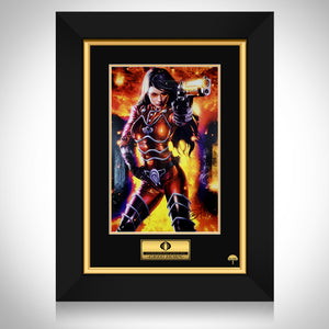 Cobra Baroness- Hand-Signed Artwork Print By Artist Greg Horn Custom Frame