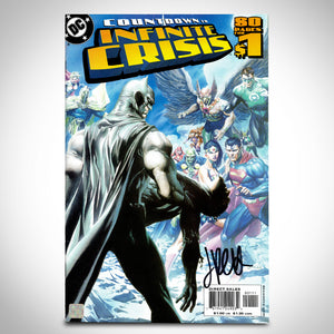 DC Comics- 'Countdown to Infinite Crisis #1'  Hand-Signed Comic Book by Jimmy Palmiotti Custom Frame