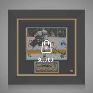 Sidney Crosby- Hand-Signed Pittsburgh Penguins Photo By Sidney Crosby Custom Frame