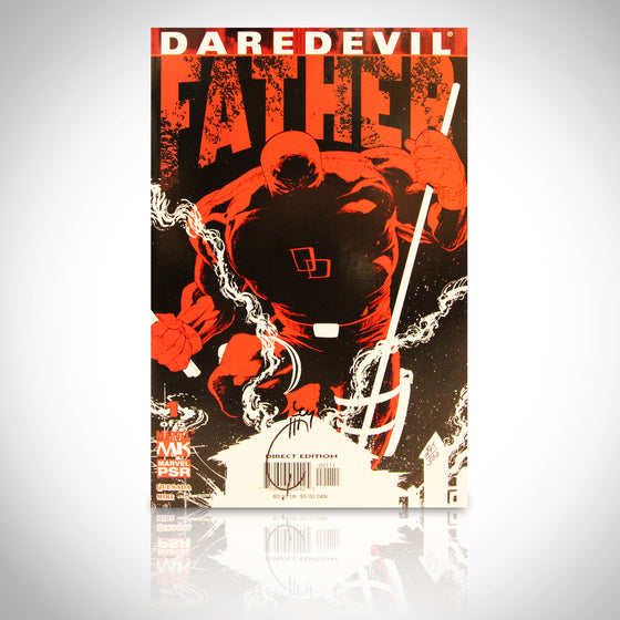 'DAREDEVIL FATHER #1 - HANDSIGNED BY JOE QUESADA' Comic Book