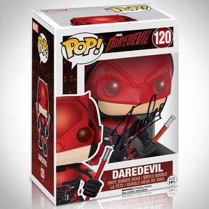 Daredevil- Hand-Signed Funko Pop #120 By Stan Lee