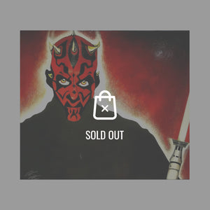 Rare-T Exclusive 'Star Wars - Darth Maul' Painting