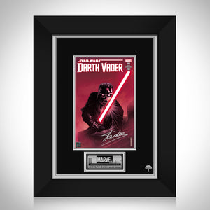 Star Wars Darth Vader #1 Stan Lee Limited Signature Edition Comic Book Cover Art Custom Frame