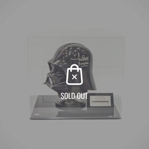 Star Wars Darth Vader Scale Helmet - Hand-Signed By David Prowse Rare-T Exclusive Museum Display