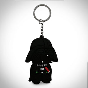 Star Wars- Darth Vader Double Sided Rubber Keychain