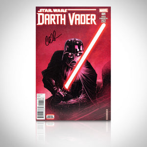 'DARTH VADER #1 - HANDSIGNED BY CHARLES SOULE' Comic Book