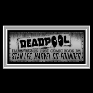 Deadpool Killustrated (2013) #1 'Moby Dick' Hand-Signed Comic Book By Stan Lee Custom Frame