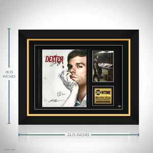 Dexter- Limited Signature Edition Studio Licensed Script Custom Frame