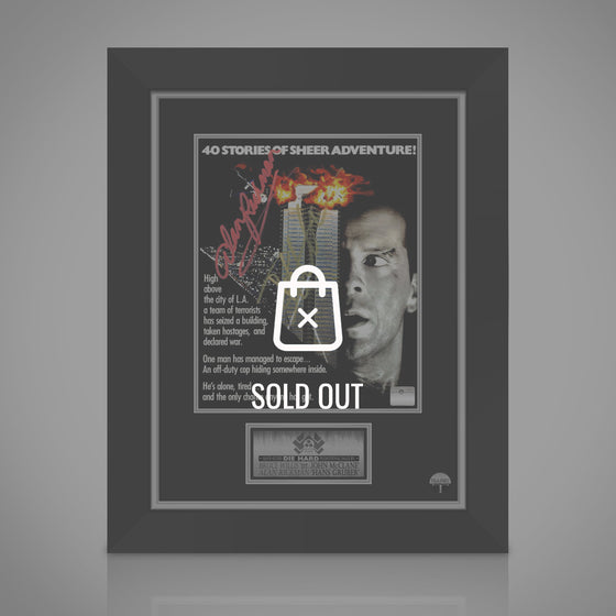 RARE-T Exclusive Limited Edition 'DIE HARD - SCRIPT' Custom Frame