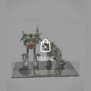 Rare-T Exclusive '1984 2X Transformers Dinobot Grimlock' Museum Display