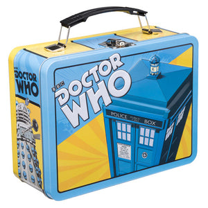 Doctor Who - Retro Tardis Tin Lunch Box