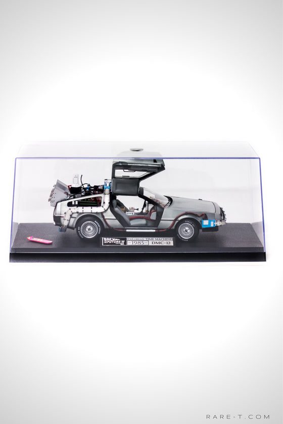 Elite Edition 'BACK TO THE FUTURE - DMC DELOREAN' Die-Cast Car | RARE-T