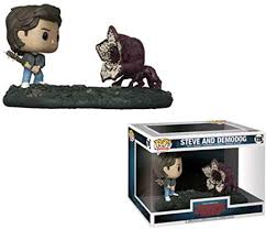 Stranger Things Steve & Demodog Movie Moment Pop