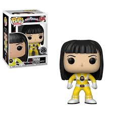 Yellow Ranger Unmasked Power Rangers Pop
