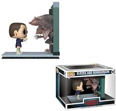 Stranger Things Eleven & Demogorgon Movie Moment Pop