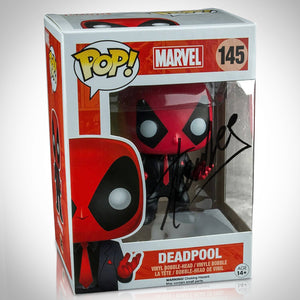 Deadpool 'Dressed To Kill' Hand-Signed Funko Pop #145 By Stan Lee