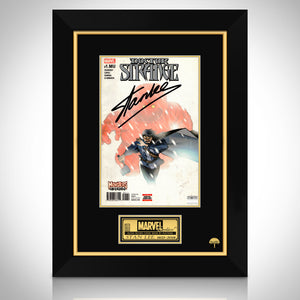 Doctor Strange Monsters Unleashed Hand-Signed Comic Book By Stan Lee Custom Frame