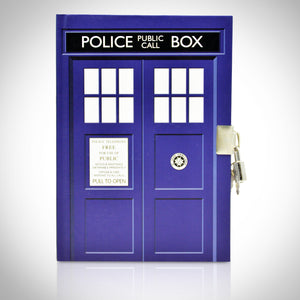Doctor Who - Tardis Journal Notebook