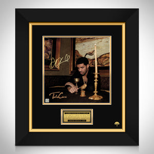 Drake Take Care LP Cover Limited Signature Edition Studio Licensed Custom Frame