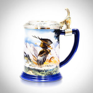 Eagle Preserve Vintage Collector Beer Stein/Tankard