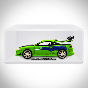 Fast & Furious  Bryan's Mitsubishi Eclipse 1:24 Die Cast Car Exclusive Elite Edition Custom Museum Display
