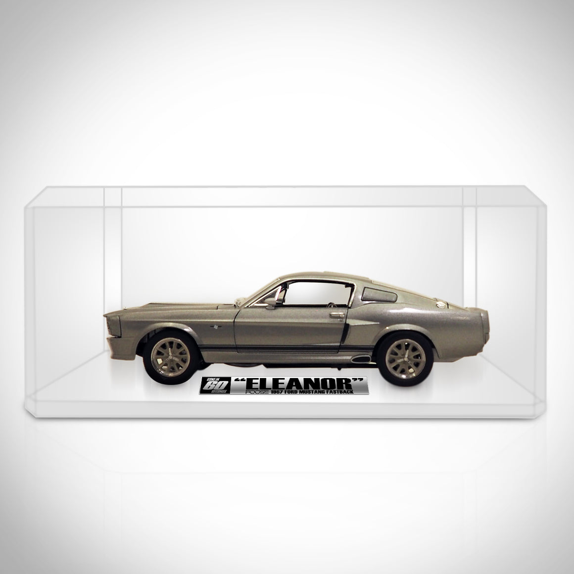 ELEANOR - 1967 FORD MUSTANG Die-Cast Car Exclusive Elite Edition ' Display Set
