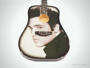 Handmade 'ELVIS PRESLEY' Mini Guitar
