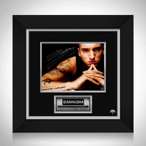 Eminem Tattoo Photo Limited Signature Edition Studio Licensed Custom Frame
