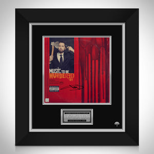 Eminem Music to be Murdered LP Cover Limited Signature Edition Studio Licensed Custom Frame