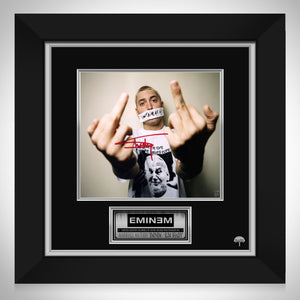 Eminem  I Don'T Give A Fk Photo Limited Signature Edition Studio Licensed Custom Frame