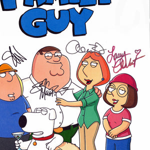 Family Guy- Limited Signature Edition Studio Licensed Script Custom Frame
