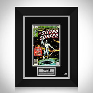 Fantasy Masterpieces 'Silver Surfer' (1979) #1 Hand-Signed Comic Book By Stan Lee Custom Frame