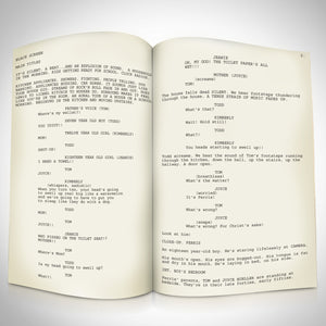 Ferris Bueller's Day off- Limited Signature Edition Studio Licensed Script Custom Frame