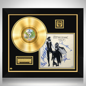 Fleetwood Mac Rumours Gold LP Limited Signature Edition Studio Licensed Custom Frame