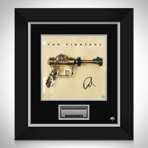 Foo Fighters Limited Signature Edition Studio Licensed LP Cover Custom Frame
