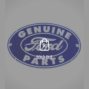 Ford-Genuine Parts Original Vintage Dealership Sign
