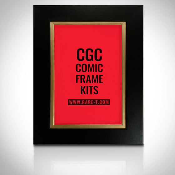 ''Universal Gold Custom Frame for CGC encased Comic Books'' - U FRAME IT CGC Gold