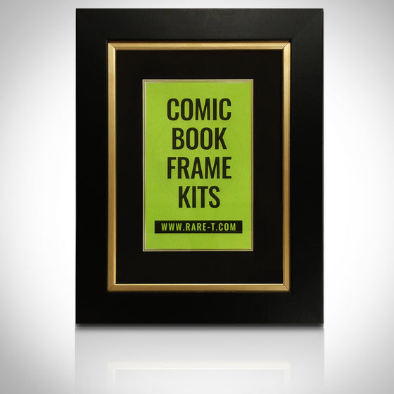 ''Universal Gold Custom Frame for Comic Books'' - U Frame it Gold comic book