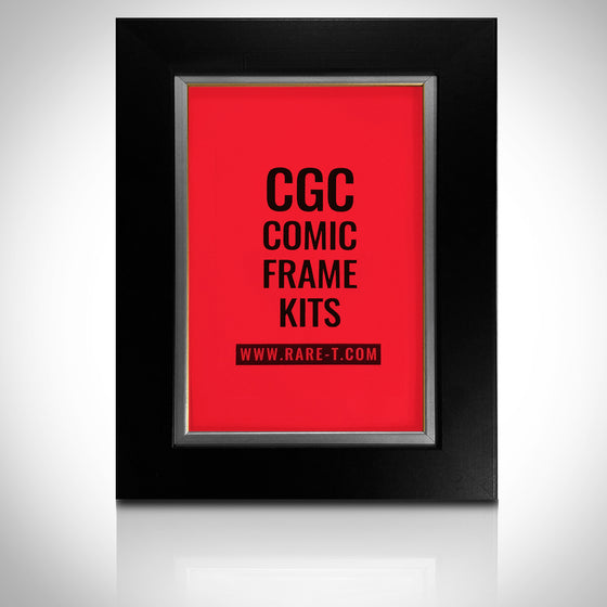 ''Universal Silver Custom Frame for CGC encased Comic Books'' -U FRAME IT CGC Silver
