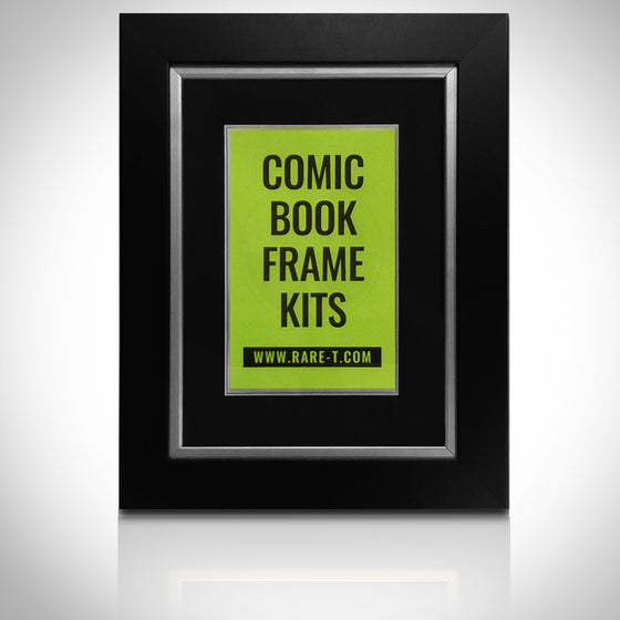 ''Universal Silver Custom Frame for Comic Books'' -U FRAME IT Silver Comic Book