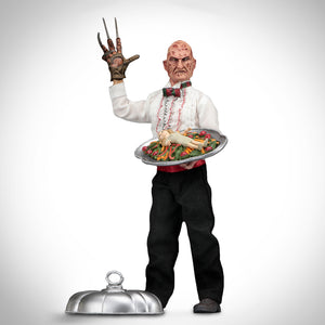 "A Nightmare On Elm Street 5- 'The Dream Child' Articulated & Clothed Chef Freddy 8"" Statue"