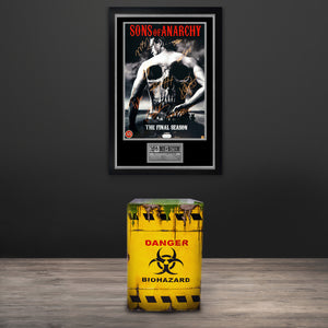 Biohazard Waste Drum Original Custom Mini-Fridge